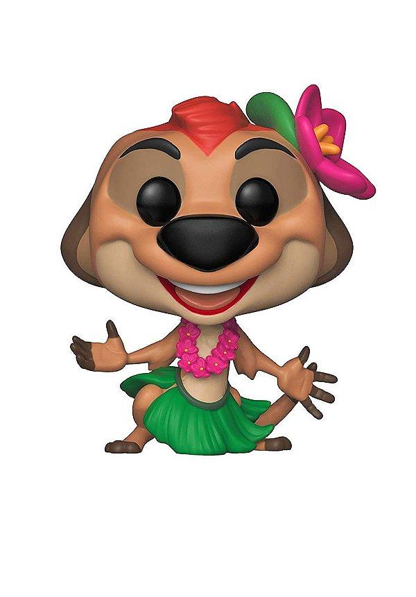 Boneco Funko Pop! Disney: O Rei Leão - Timão Luau
