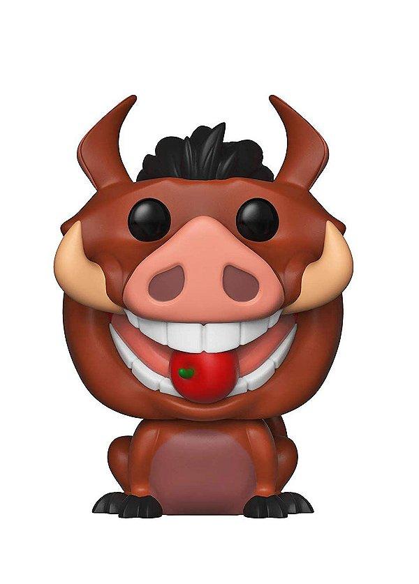 Boneco Funko Pop! Disney: O Rei Leão - Pumba Luau