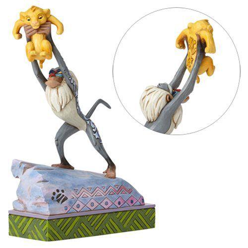Enesco - Disney: O Rei Leão - Rafiki e bebê Simba