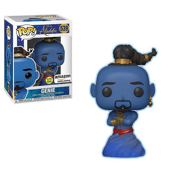 Funko Pop Disney Aladdin Live Action - Gênio (Brilha do Escuro)