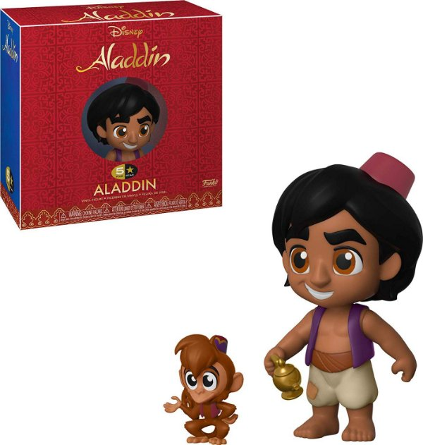 Funko 5 Star Disney Aladdin - Aladdin e Abu