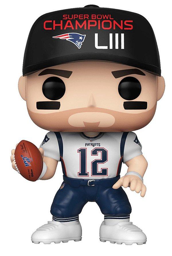 Boneco Funko Pop NFL Tom Brady Wave 6
