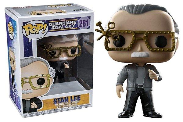Boneco Funko Pop Guardiões da Galáxia - Stan Lee