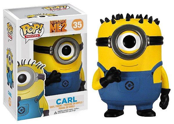 Boneco Funko Pop Minions Carl