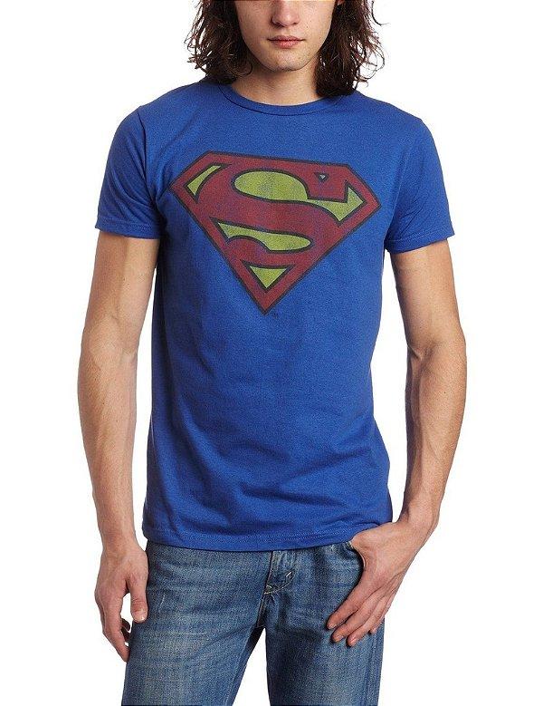 Camiseta Masculina Super Homem