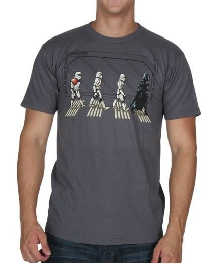 Camiseta Masculina Star Wars Abbey Road