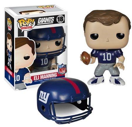 Boneco Funko Pop NFL Eli Manning