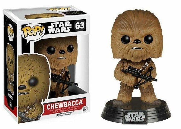 Boneco Funko Pop Star Wars Chewbacca The Force Awakens