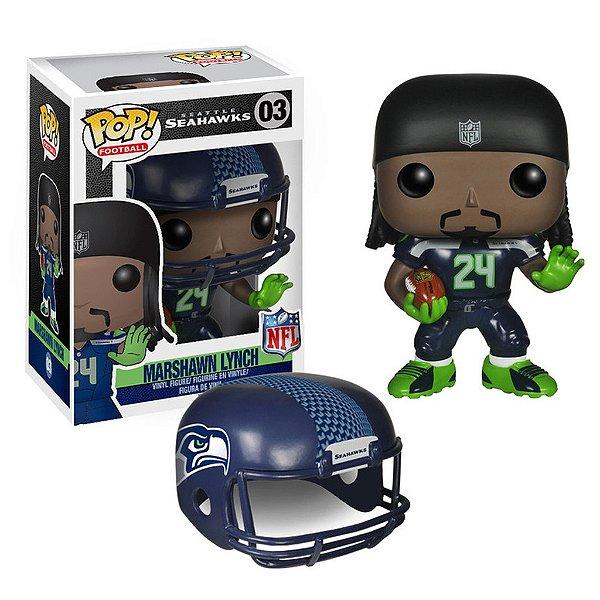 Boneco Funko Pop NFL Marshawn Lynch