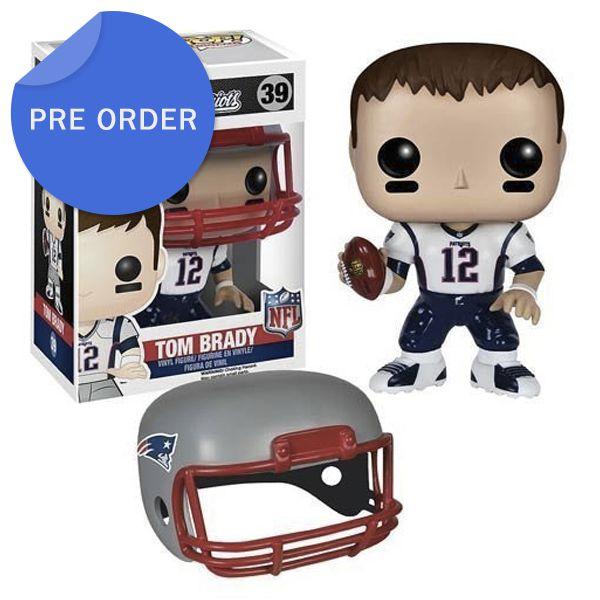 Boneco Funko Pop NFL Tom Brady Wave 2