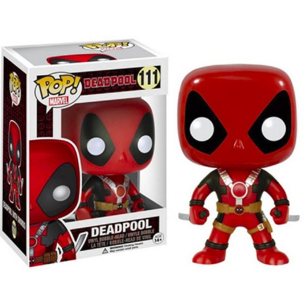 Boneco Funko Pop Marvel Deadpool