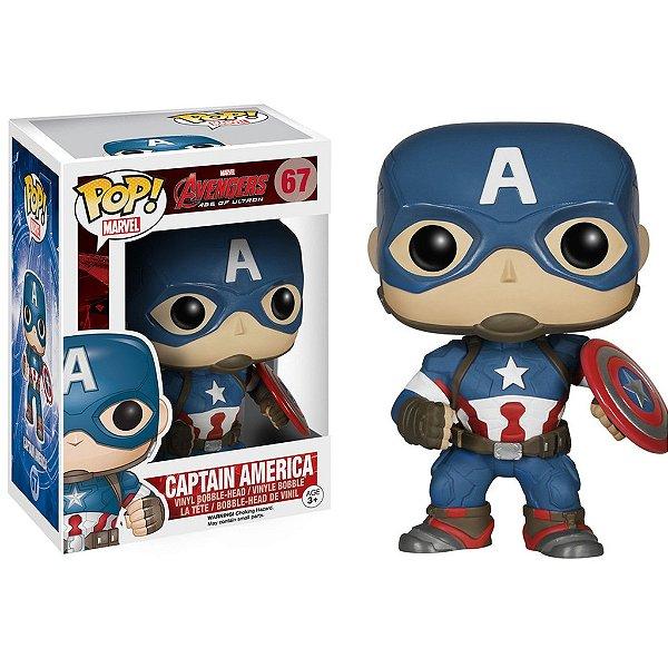 Boneco Funko Pop Avengers Capitão América