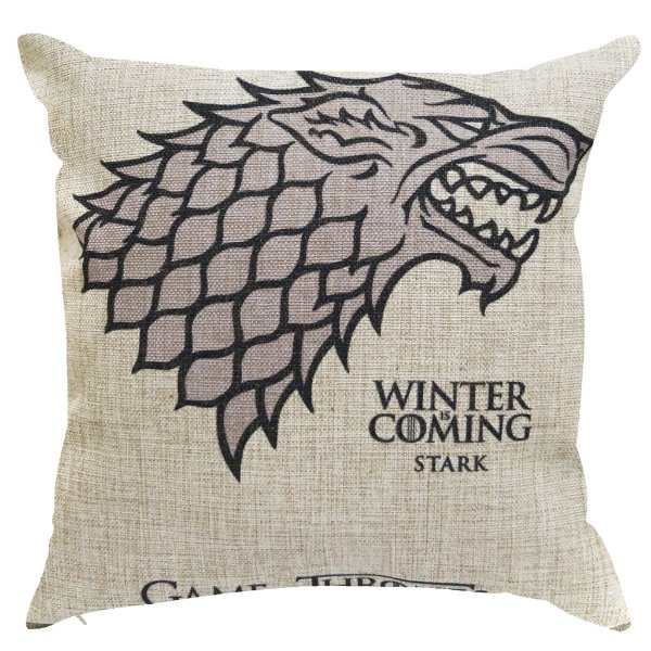 Capa Almofada Game Of Thrones Stark 45x45