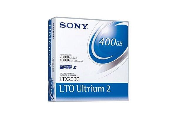 Fita LTO-2 Ultrium SONY 400GB
