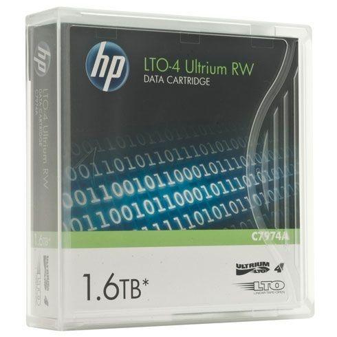 Fita LTO 4 Ultrium HP 1.6TB