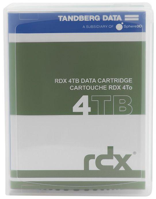 Cartuchos RDX 4 TB - Tandberg