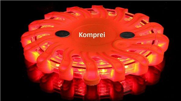 Giroflex Strobo Recarregável Vermelho Sem Fio