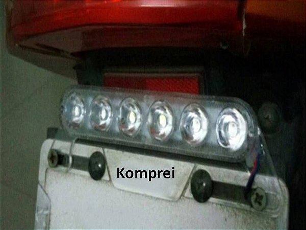 Luz de led para placa de Motocicleta