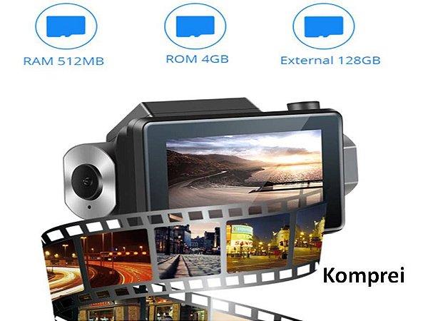 Câmera E Filmadora Veicular 3g Gps C/ Comunicação