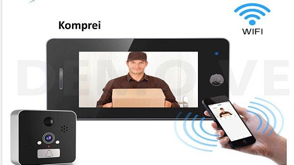 Olho Mágico Digital Wifi HD 1080P - Exlusivo