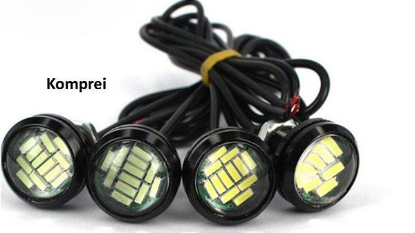 Parafuso de led 15Watts kit c/ 2 peças - Exclusivo