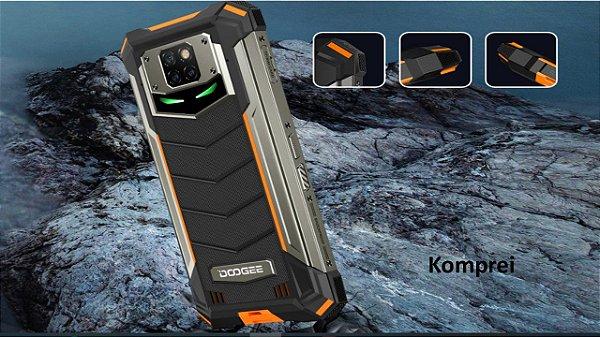 Smartphone Doogee S88 Pro IP68 128gb resistente a Água, Impacto e Poeira