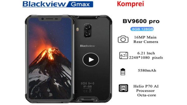 Smartphone Blackview bv9600 Pro ip68 128GB