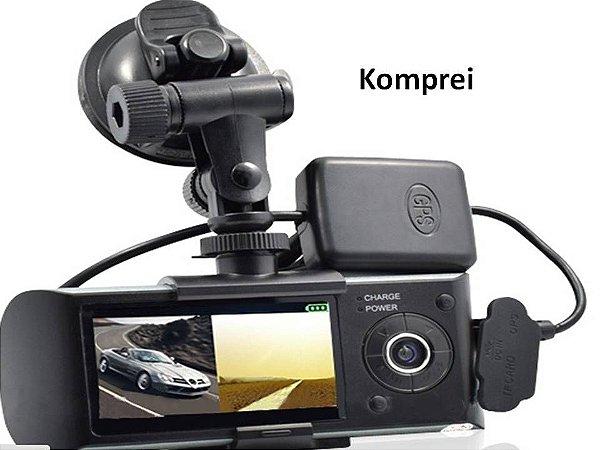 Câmera Filmadora com GPS + SD 32gb