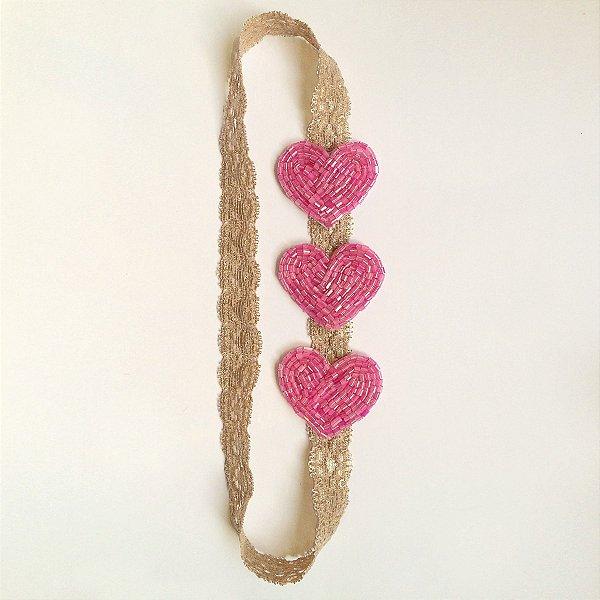 Corações Petites Pink