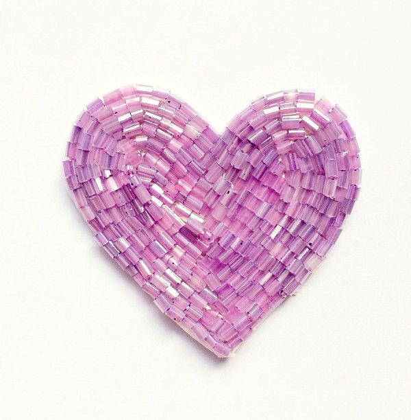 Coração Super Lilás