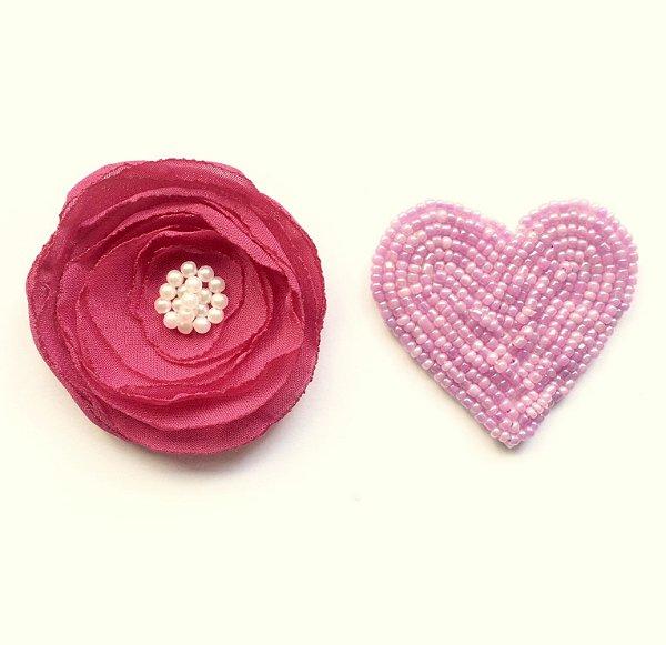 Love pink . na presilha