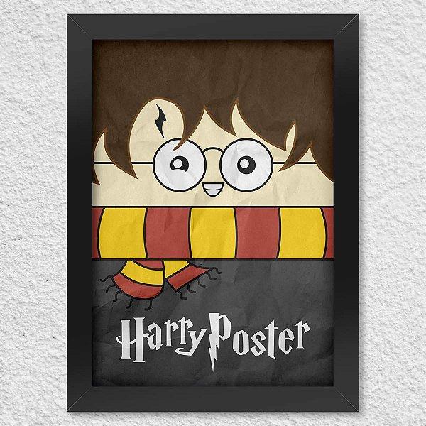 Poster com Moldura Harry Poster