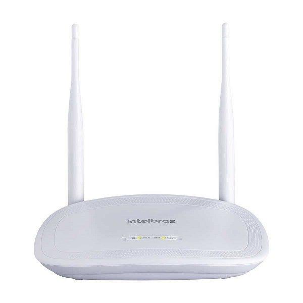 Roteador Intelbras Wireless IWR 3000N 300mbps 2 Antenas 4 Portas Lan Repetidor