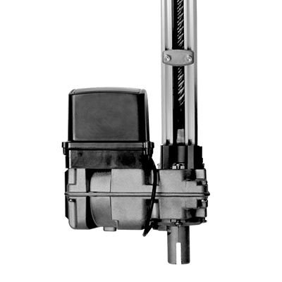 Kit Motor Basculante 2 Controles Bv Home 220v Acion Bv U Aluminio 1,40mts 1/4 PPA