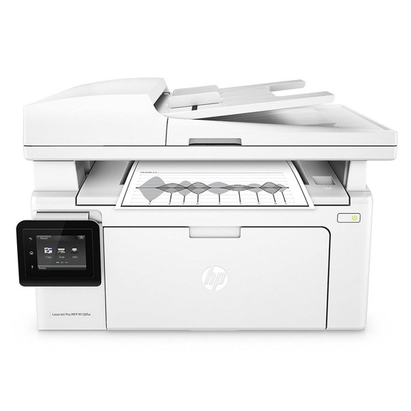 Impressora multifuncional HP LaserJet Pro M130FW Wi-Fi 110V Branca
