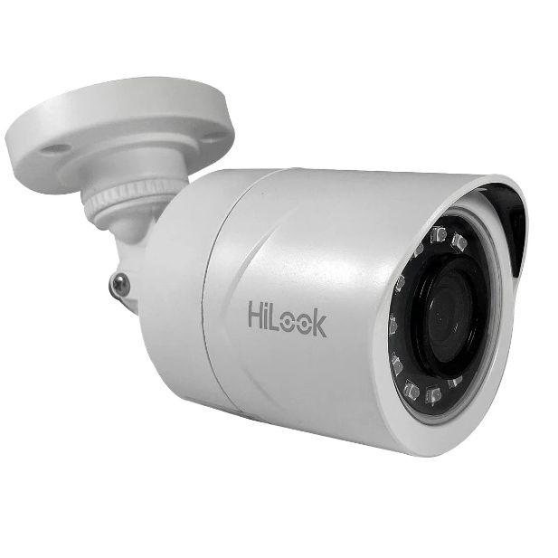 Câmera Hilook Hikvision Bullet Full HD 1080P 2.8mm 4X1 20m IP66 THC-B120C-P