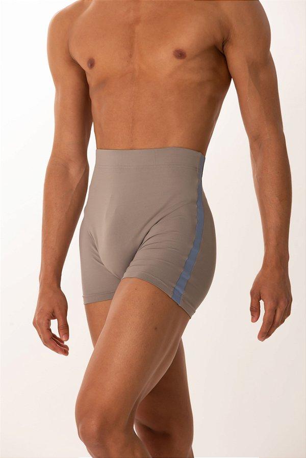 Shorts PEDRO - Cinza com Azul com Constelação