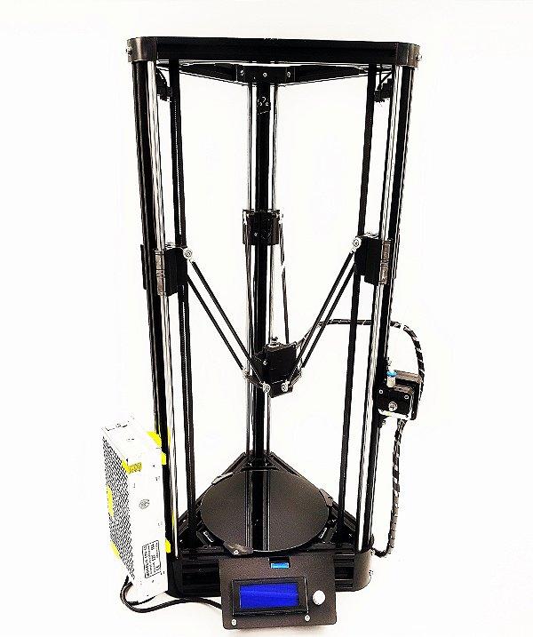 Impressora 3D Delta 3.0 Guia Linear com mesa aquecida