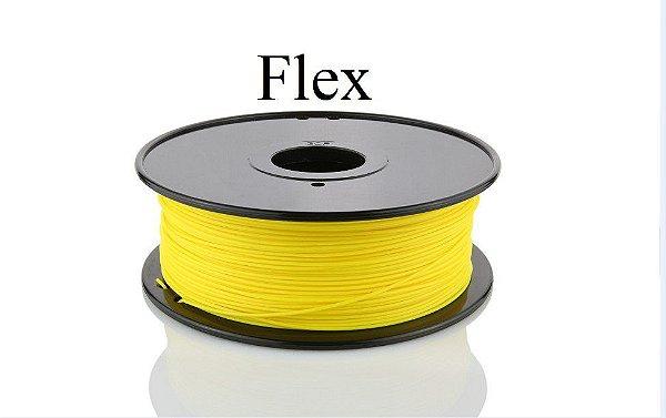 Filamento Flexível Amarelo