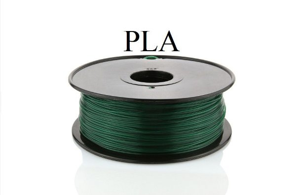 Filamento PLA Verde escuro