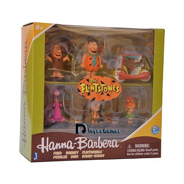 The Flintstones - Hanna-Barbera Jazwares