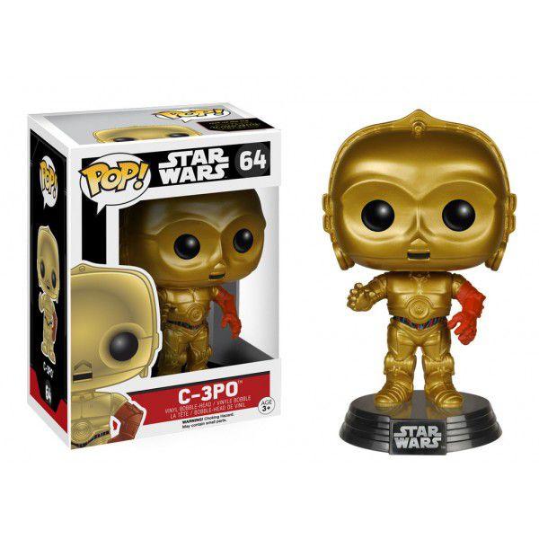 Funko Pop! Star Wars - C3PO - O Despertar da Força
