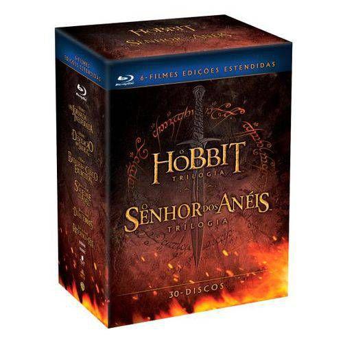Blu Ray | Coleção Terra Média | O Hobbit e O Senhor dos Anéis
