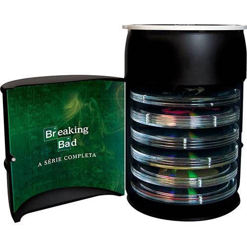 Blu-ray - Breaking Bad: A Coleção Completa - Edição de Colecionador - Barril (17 Discos)