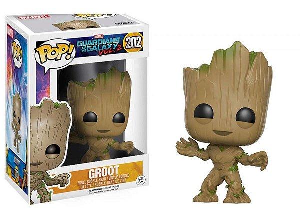 Funko Pop! Guardiões da Galáxia Vol. 2 - Groot #202