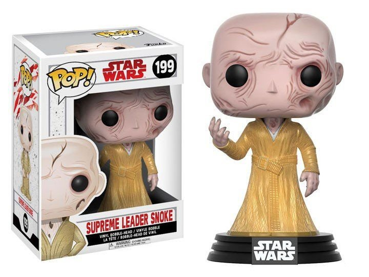 Funko Pop! Star Wars Últimos Jedi - Supreme Leader Snoke #199