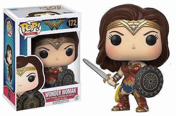 Funko Pop! Wonder Woman - Mulher Maravilha #172