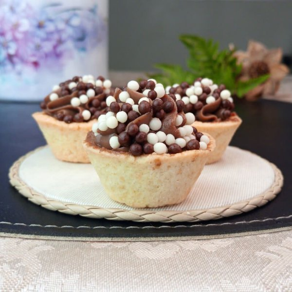 Mini Quiche de Chocolate