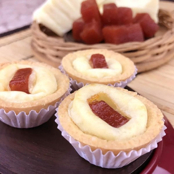 Mini Quiche Romeu e Julieta