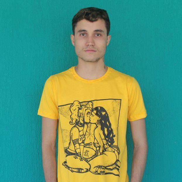 Camiseta Heroínas Slim